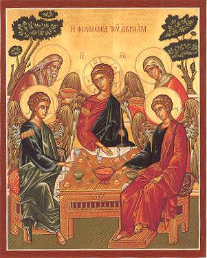 Holy Trinity & Abraham & Sarah