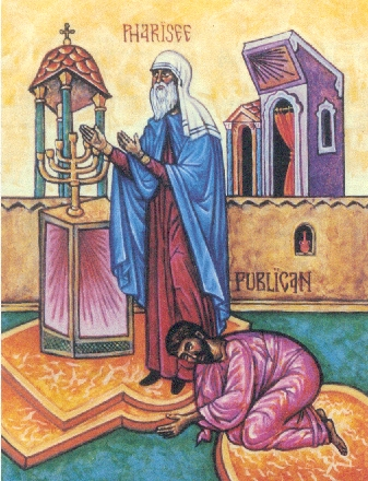 Icon of Publican and Pharisee
