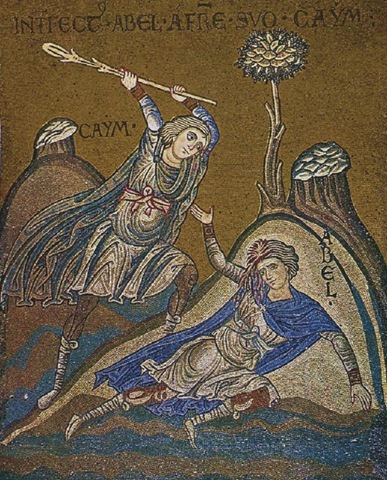 Cain killing his brother Abel