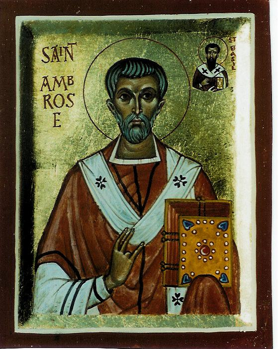 St Ambrose of Milan