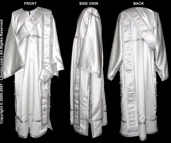 Complete Diaconal Vestments