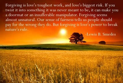 forgiveness thought