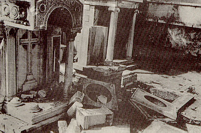Pogrom Constantinople Sept 1955 Graves desecrated