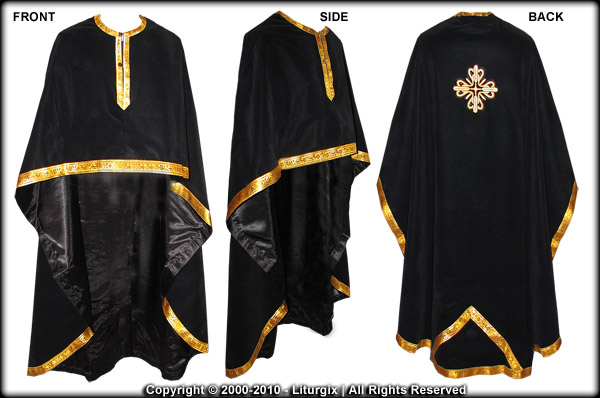 Various views of the Chasuble