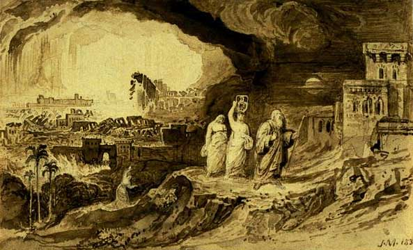 Destruction of Sodom & Gomorrah