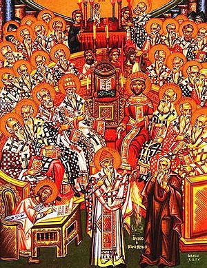 First Eumenical Council of Nicaea