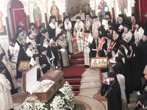 Funeral of Patriarch Ignatios Hazim02