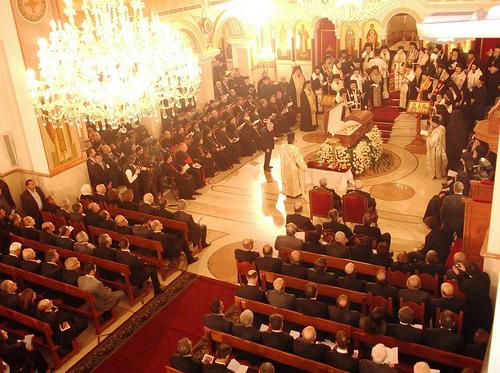 Funeral of Patriarch Ignatios Hazim03