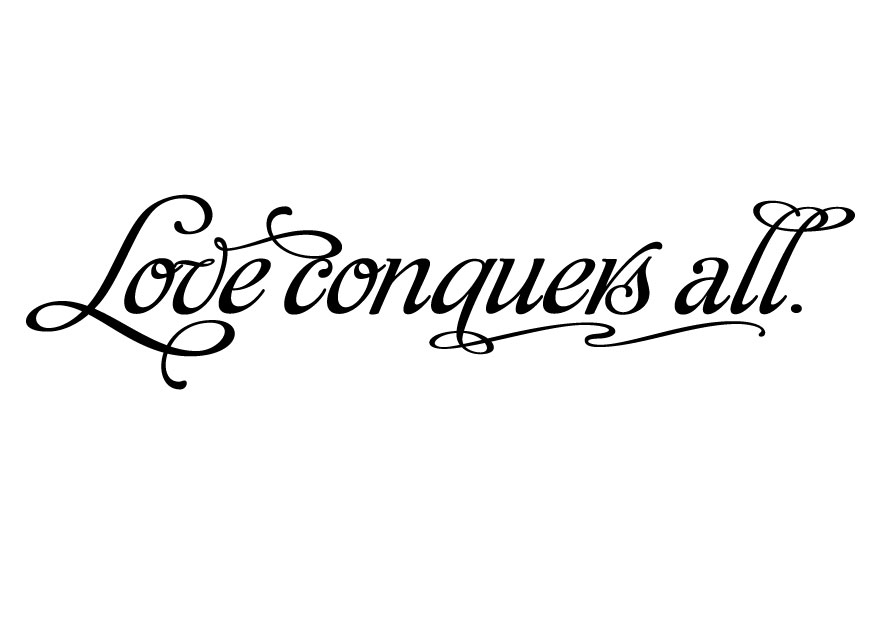 Essay on love conquers all day