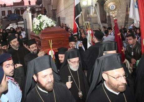 SYRIA-RELIGION-CHRISTIAN-IGNATIUS IV