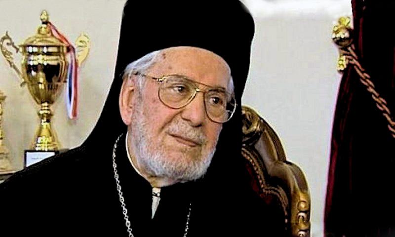 Patriarch Ignatios Hazim of Antioch