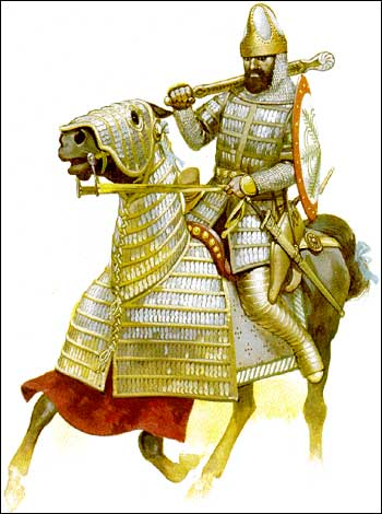 Sassanian Heavy Cavalry_Aristocratic Nobleman