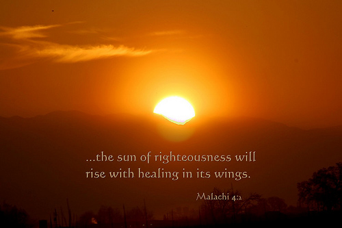 Sun of Righteousness - Prophet Malachi