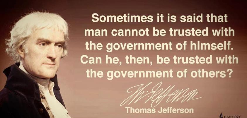 Thomas Jefferson on Self Governance
