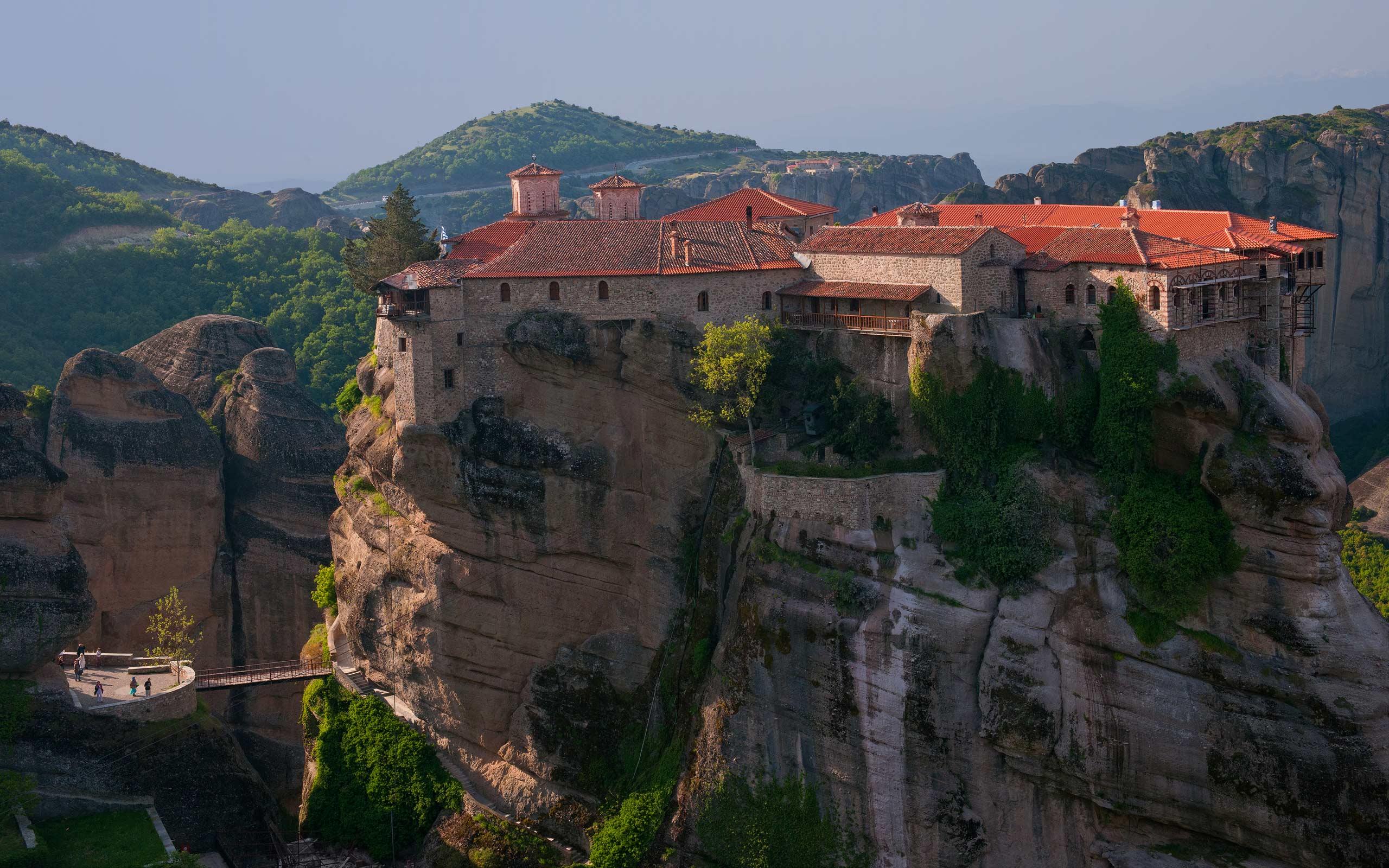 Varlaam Monastery Panorama_Meteora
