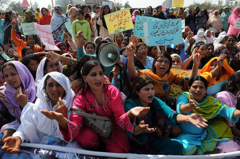 Celebrations in Pakistan for International Womens Day