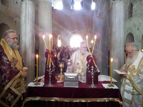 Church of St Nicholas in Myra_Divine Liturgy01