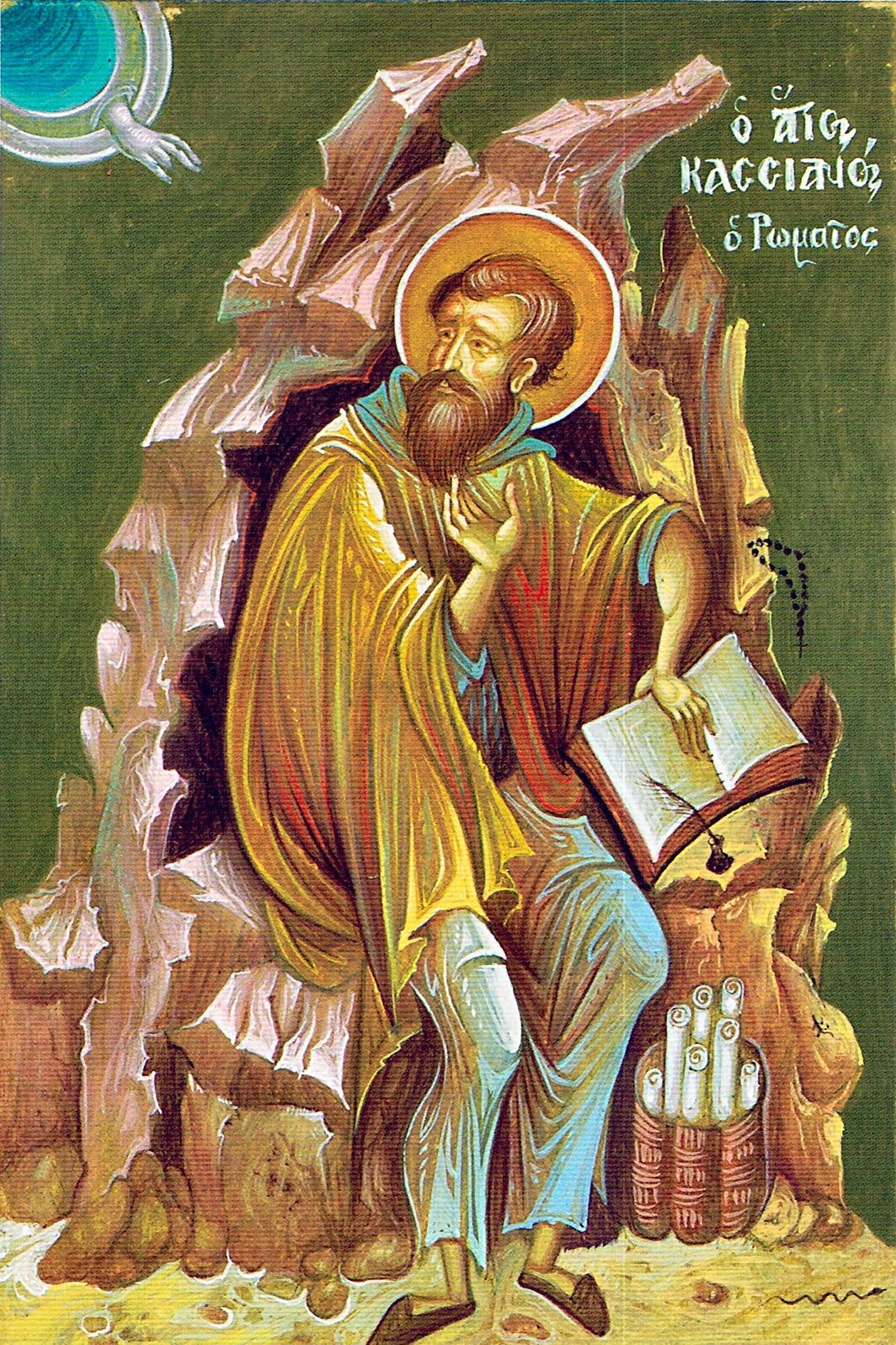 St John Cassian icon 02