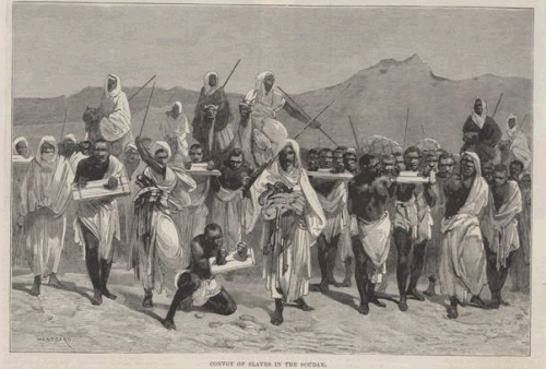Muslim slave traders in the Sudan