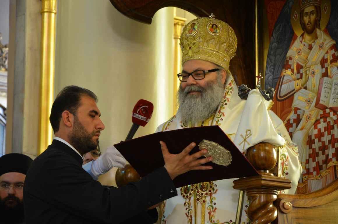 His Beatitude Patriarch John 10th of Antioch_Enthronement Speech
