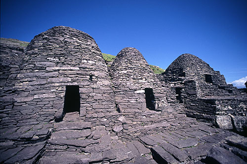 Monastic cells at Skellig Michael