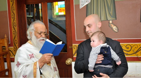 Preparation prayers for baptism_Fr Nektarios Zorbalas