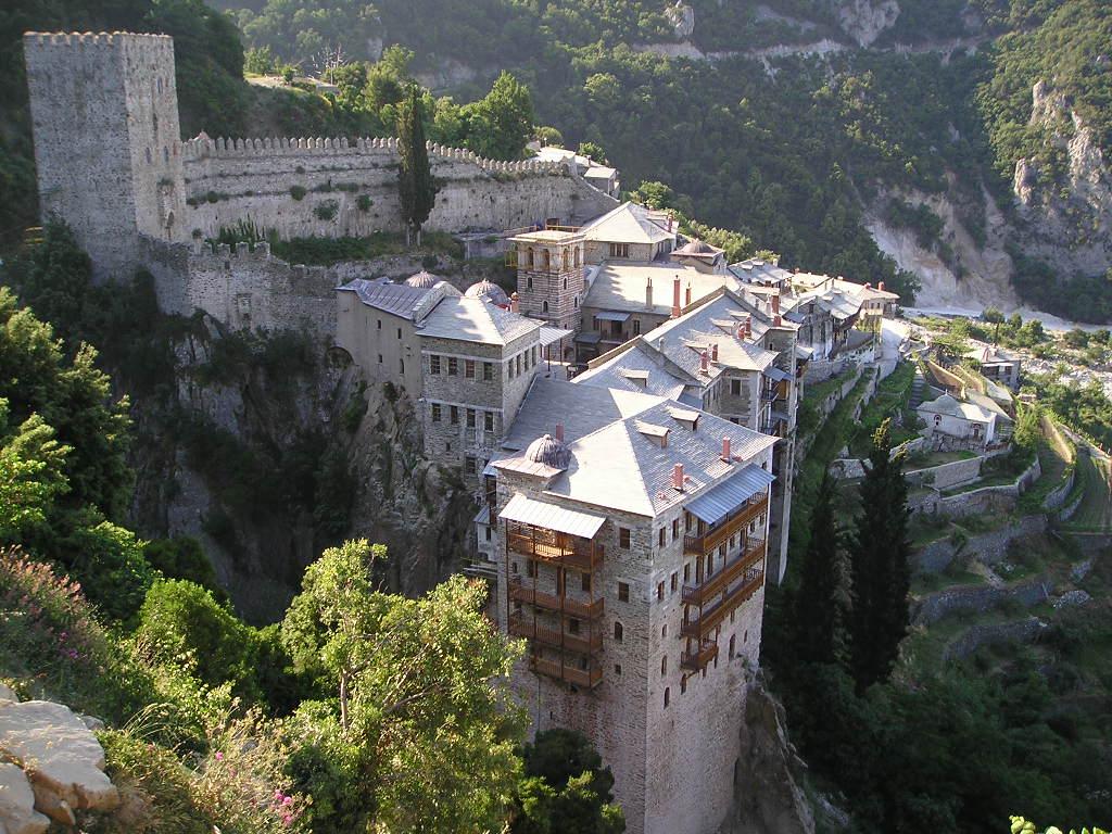 St Paul's Monastery - Mt Athos