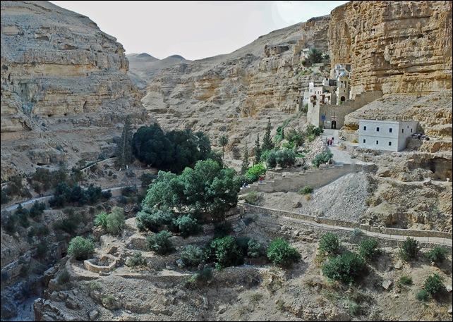 St Savvas Monastery - Judean Desert