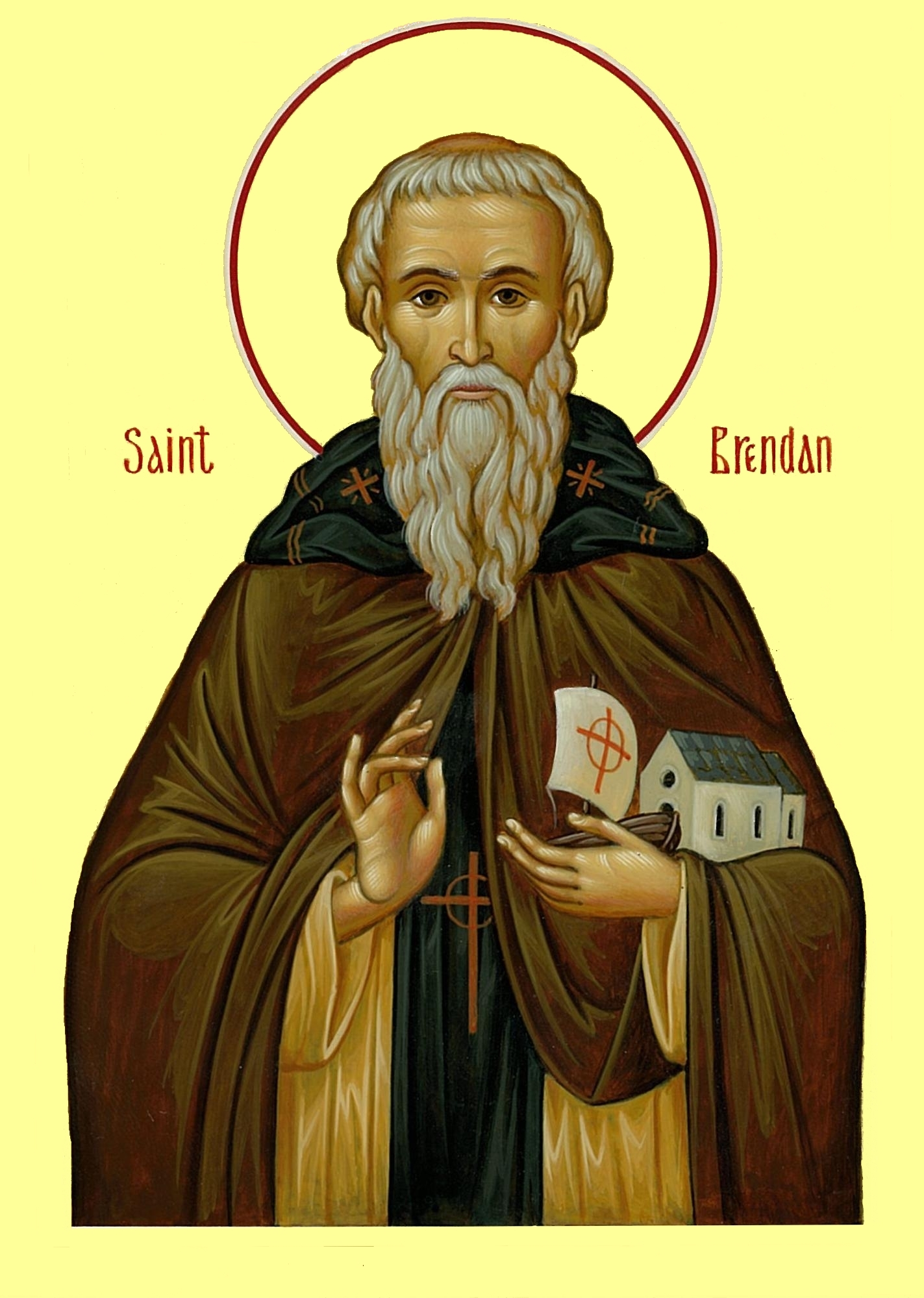 St Brendan the Navigator of Clonfert