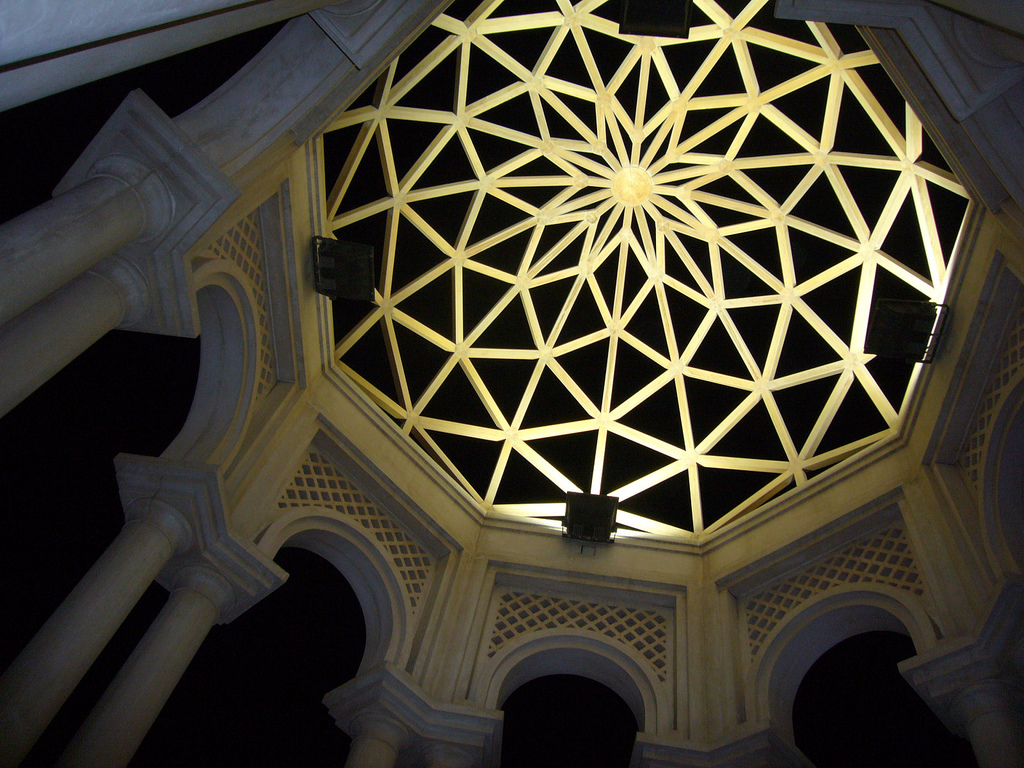 Sacred geometry emplyed in liturgical space