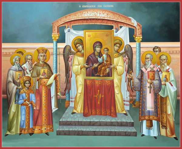 Icon of 7th Ecumenical Council