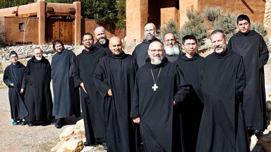 Benedictine Monks in Desert community in Abiquiu - New Mexico