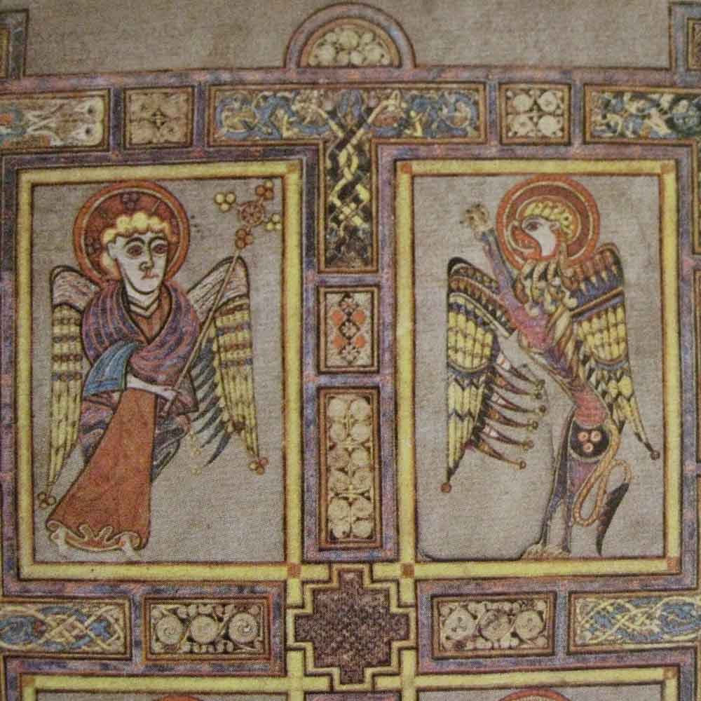 Blue Eyed Ennis Book Of Kells Video Series And Digital Book Of