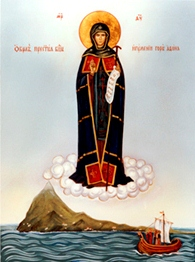 Theotokos-abess-of-Mount-Athos