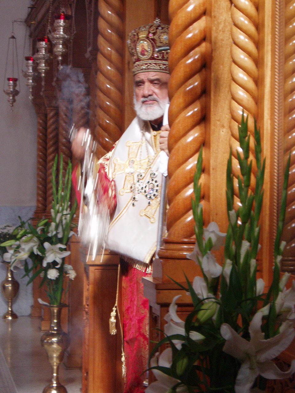 Archbishop Stylianos Harkianakis of Australia
