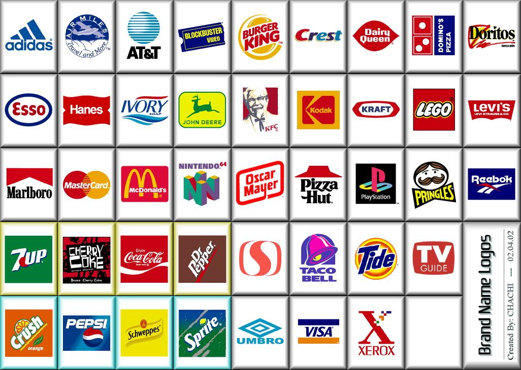 Brand name logos01