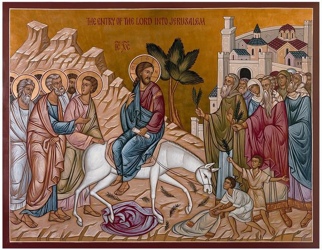 Icon of Palm Sunday01