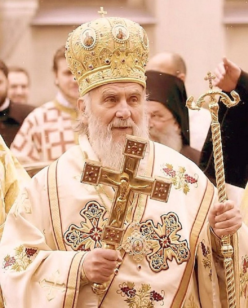 His Beatitude Patriarch Irinej of Serbia01