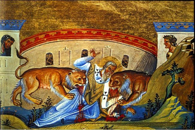 St Ignatios I Bishop of Antioch