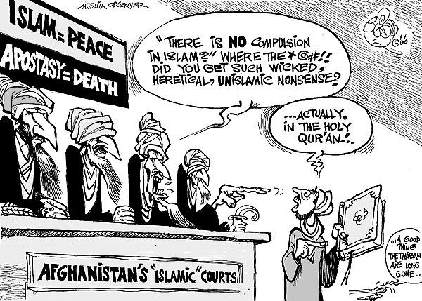 Apostasy in Islam comic