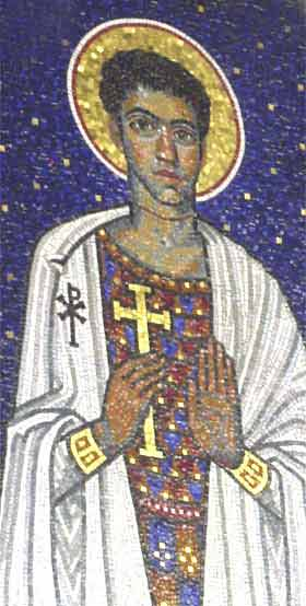Earliest surviving image of St Alban Protomartyr of Britain