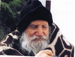Elder Porphyrios with Blanket