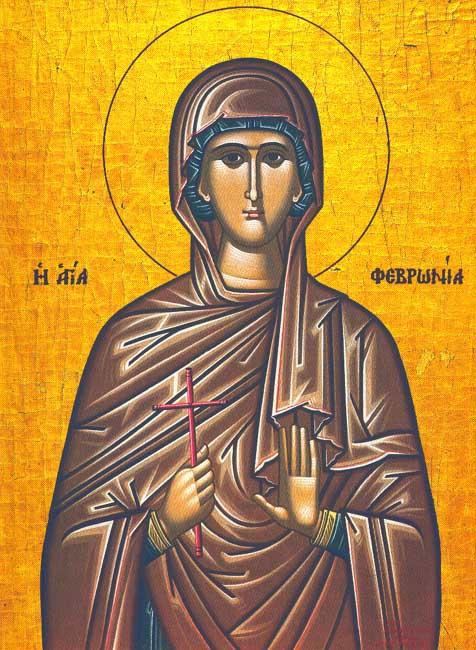 St Fevronia of Nisibis01