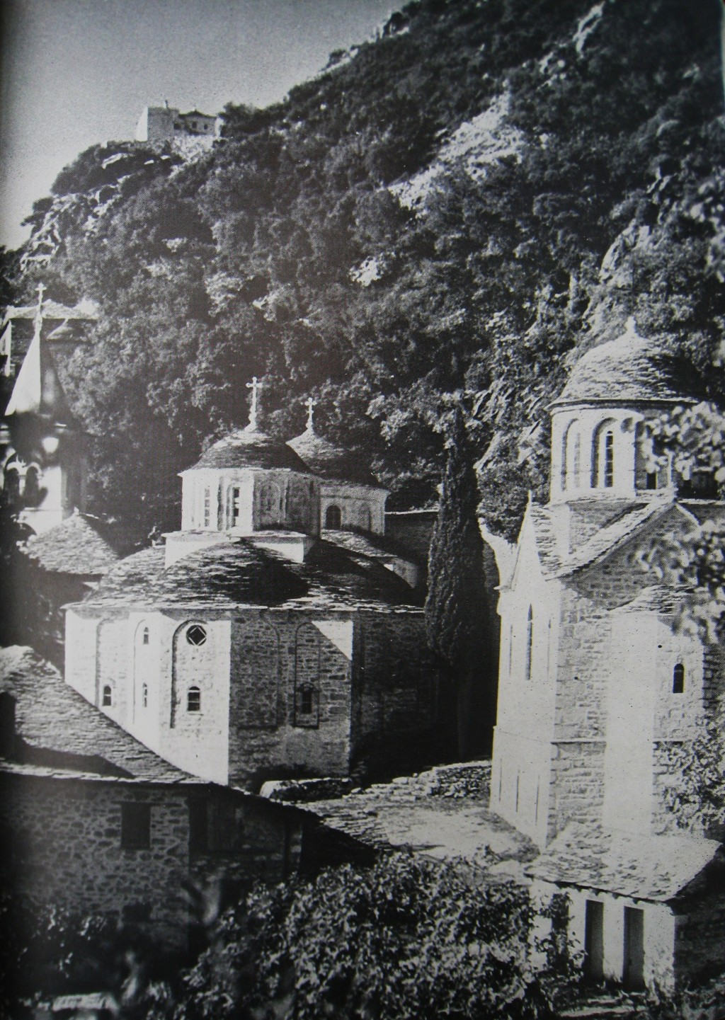 Old photo of Kafsokalyvia