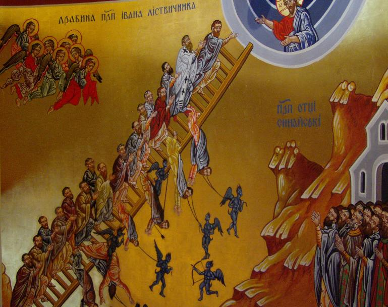 Icon of the Ladder of Divine Ascent