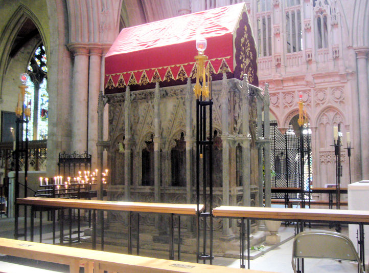 Relic repository of St Alban