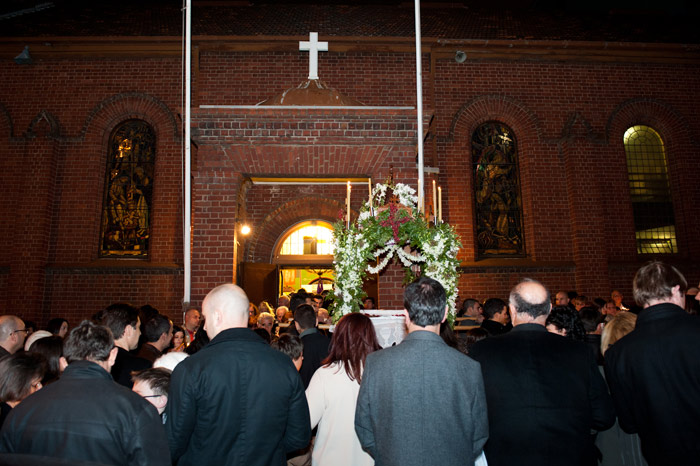 Epitaphios procession at Evangelismos_East Melbourne