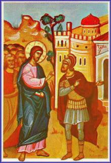 Christ healing the centurions servant