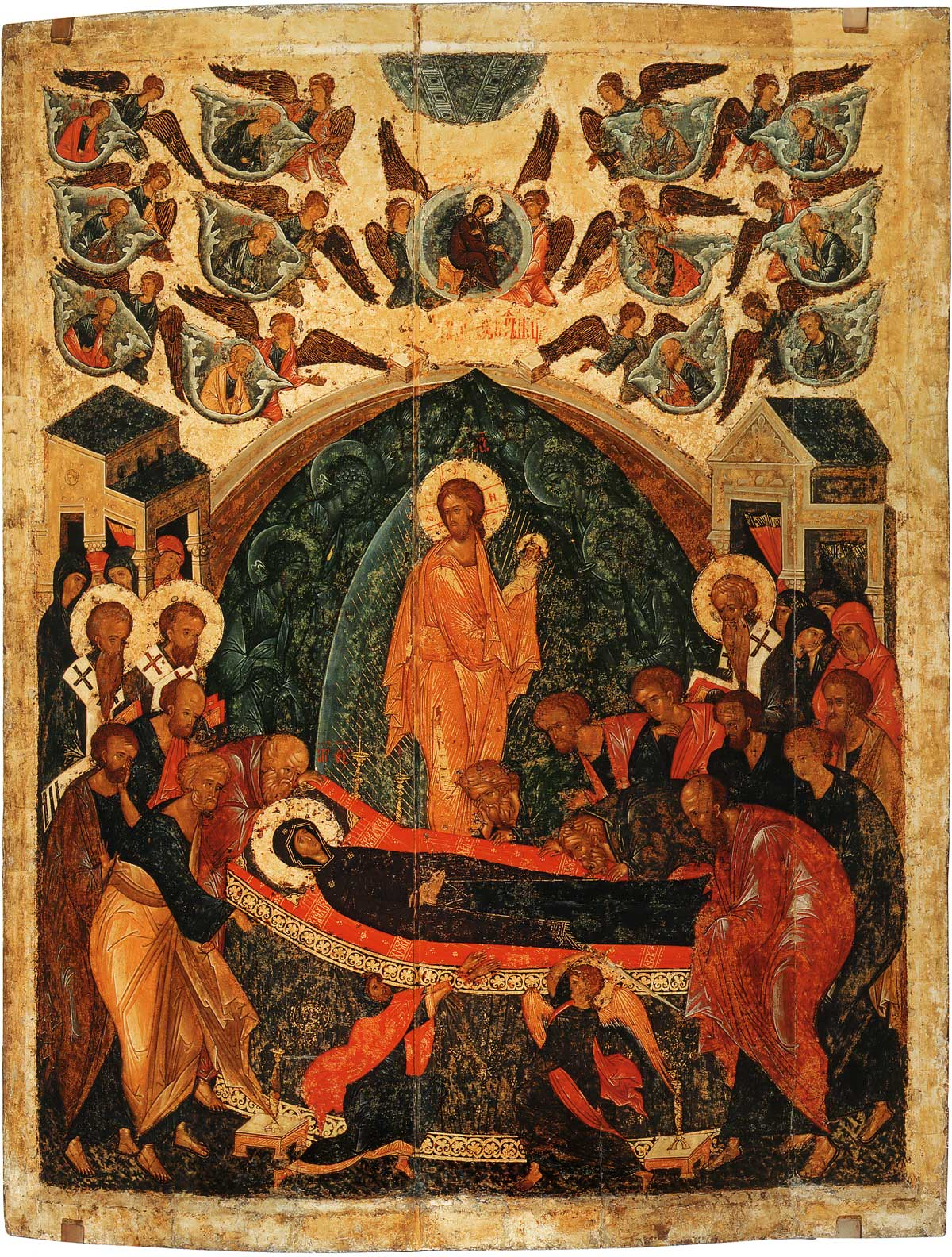 Dormition of the Theotokos - Festal Icon