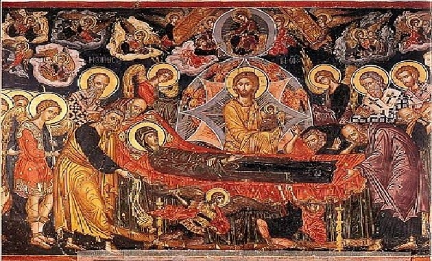 Dormition of the Theotokos Icon01